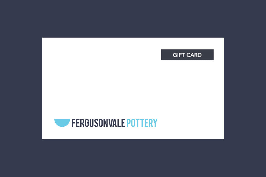 Pottery Class Gift Certificate
