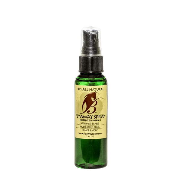 For Purses & Golf Bags: Natural Fly Repellent 2oz Spray Bottle