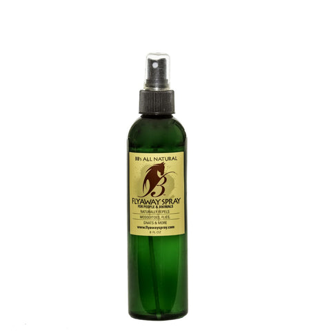 For Hikers & Campers: Natural Fly Repellent 8oz Spray Bottle