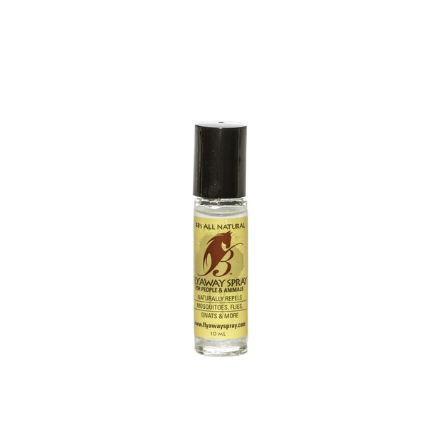 Roll Around Your Horse's Eyes: Natural Fly Repellent 10ml Bottle