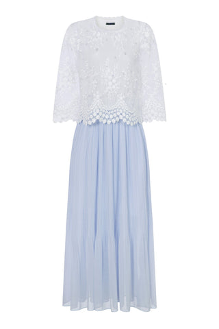 SNOW TOP MAXI DRESS