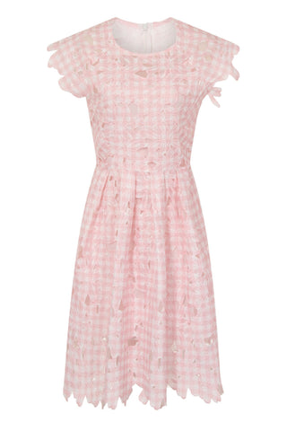 CHECKER CLOTH DRESS
