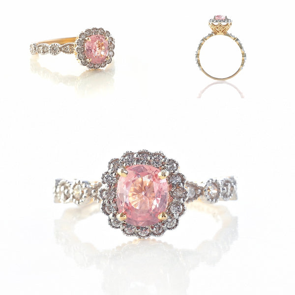 Padparadscha Sapphires - The latest stone trend fit for a Princess