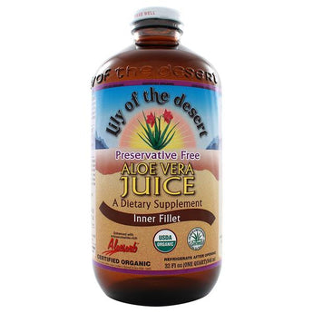 Aloe Vera Juice (no preservatives) 32. fl. oz.