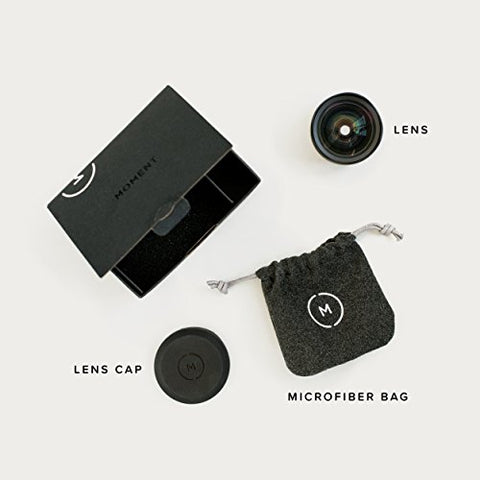 Moment - 18 mm Wide Lens for iPhone, Pixel, Samsung Galaxy and OnePlus Camera Phones: Gateway