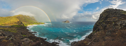 Rainbow Over Makapu'u by Alex Wilson