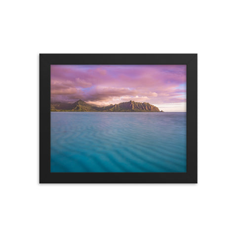 Kaneohe Bay Sunrise by Alex Wilson