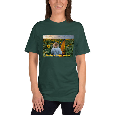 Surfer Sunflower T-Shirt