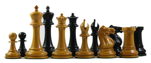 Steinitz Staunton Chess Pieces - The Chess Store