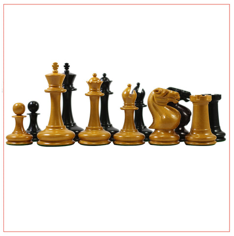 Stroud Club Vintage 1878 Reproduction Chess Set - The Chess Store