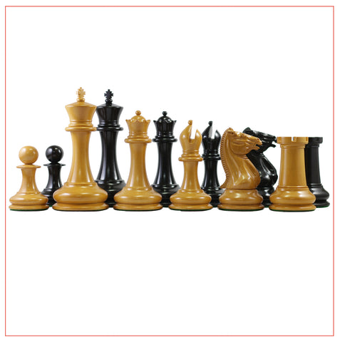 1849 Morphy Cooke 4.4″ Reproduction Chess Pieces - The Chess Store