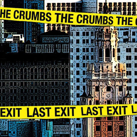 CRUMBS, THE Last Exit                             LP, punk, recess ops, distro, distribution, punk distribution, wholesale, record album, vinyl, lp, Recess Records