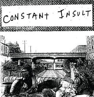 "Constant Insult ""S/T""                            12"", punk, recess ops, distro, distribution, punk distribution, wholesale, record album, vinyl, lp, Let's Pretend Records"