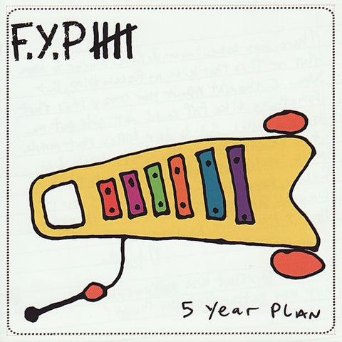 F.Y.P. Five Year Plan                             CD, punk, recess ops, distro, distribution, punk distribution, wholesale, record album, vinyl, lp, Recess Records