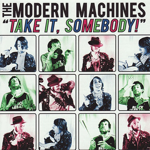 MODERN MACHINES Take It, Somebody!                LP, punk, recess ops, distro, distribution, punk distribution, wholesale, record album, vinyl, lp, Recess Records