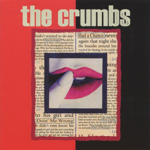 CRUMBS, THE Out of Range (AKA S/T)                LP, punk, recess ops, distro, distribution, punk distribution, wholesale, record album, vinyl, lp, Recess Records