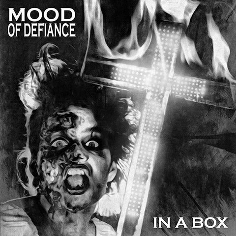 "MOOD OF DEFIANCE In A Box                         (7""), punk, recess ops, distro, distribution, punk distribution, wholesale, record album, vinyl, lp, Recess Records"