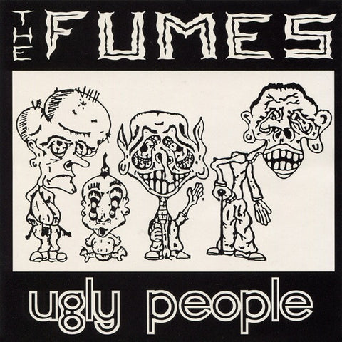 FUMES, THE Ugly People                            CD, punk, recess ops, distro, distribution, punk distribution, wholesale, record album, vinyl, lp, Recess Records