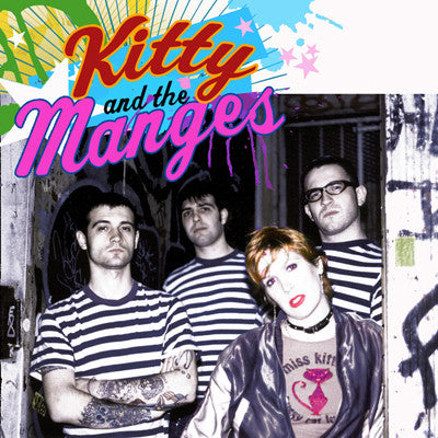 "KITTY & THE MANGES Joey's Song                    (7""), punk, recess ops, distro, distribution, punk distribution, wholesale, record album, vinyl, lp, It's Alive Records"
