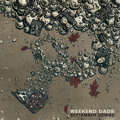WEEKEND DADS September Downs                      LP, punk, recess ops, distro, distribution, punk distribution, wholesale, record album, vinyl, lp, It's Alive Records
