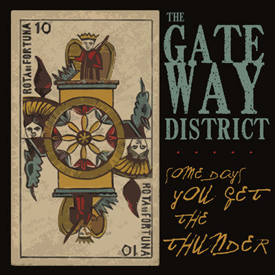 GATEWAY DISTRICT Some Days You Get The Thunder    CD, punk, recess ops, distro, distribution, punk distribution, wholesale, record album, vinyl, lp, It's Alive Records