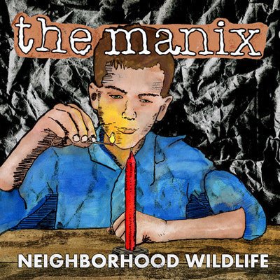 MANIX, THE Neighborhood Wildlife                  CD, punk, recess ops, distro, distribution, punk distribution, wholesale, record album, vinyl, lp, It's Alive Records