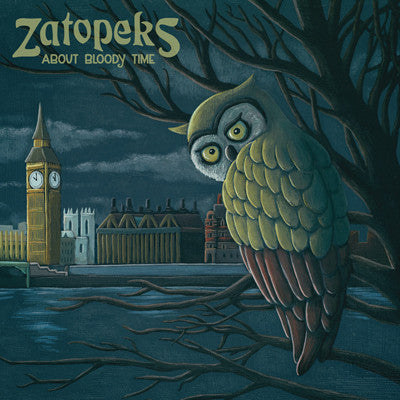 ZATOPEKS About Bloody Time                        CD, punk, recess ops, distro, distribution, punk distribution, wholesale, record album, vinyl, lp, It's Alive Records