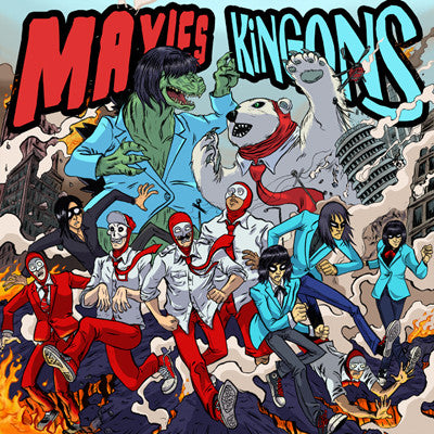 KINGONS / MAXIES, THE Split                       CD, punk, recess ops, distro, distribution, punk distribution, wholesale, record album, vinyl, lp, It's Alive Records