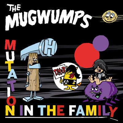 MUGWUMPS, THE Mutation In The Family              CD, punk, recess ops, distro, distribution, punk distribution, wholesale, record album, vinyl, lp, It's Alive Records