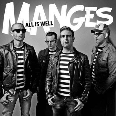 MANGES, THE All Is Well                           LP, punk, recess ops, distro, distribution, punk distribution, wholesale, record album, vinyl, lp, It's Alive Records