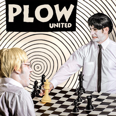 PLOW UNITED  Plow United                          LP, punk, recess ops, distro, distribution, punk distribution, wholesale, record album, vinyl, lp, It's Alive Records