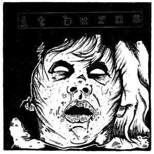 "It Burns ""S/T""                                    (7""), punk, recess ops, distro, distribution, punk distribution, wholesale, record album, vinyl, lp, Let's Pretend Records"