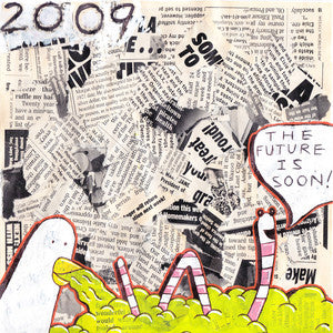 "2009 ""The Future is Soon""                        12"", punk, recess ops, distro, distribution, punk distribution, wholesale, record album, vinyl, lp, Let's Pretend Records"