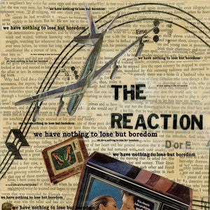 "The Reaction ""we have nothing to lose but boredom10"", punk, recess ops, distro, distribution, punk distribution, wholesale, record album, vinyl, lp, Let's Pretend Records"