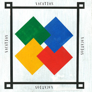 "Vacation ""S/T""                                   CASS, punk, recess ops, distro, distribution, punk distribution, wholesale, record album, vinyl, lp, Let's Pretend Records"