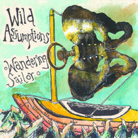 "Wild Assumptions ""Wandering Sailor""               (7""), punk, recess ops, distro, distribution, punk distribution, wholesale, record album, vinyl, lp, Let's Pretend Records"