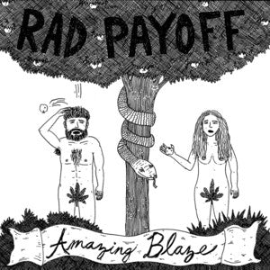 "Rad Payoff ""Amazing Blaze""                        (7""), punk, recess ops, distro, distribution, punk distribution, wholesale, record album, vinyl, lp, Let's Pretend Records"
