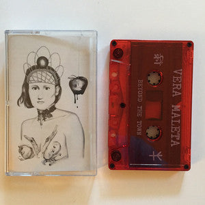 "Vera Maleta ""Beyond the Town""                    CASS, punk, recess ops, distro, distribution, punk distribution, wholesale, record album, vinyl, lp, Let's Pretend Records"