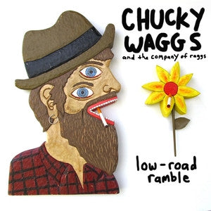"Chucky Waggs and ... ""low road ramble"" 12"", punk, recess ops, distro, distribution, punk distribution, wholesale, record album, vinyl, lp, Let's Pretend Records"