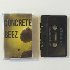 "Concrete Beez ""S/T""                              CASS, punk, recess ops, distro, distribution, punk distribution, wholesale, record album, vinyl, lp, Let's Pretend Records"
