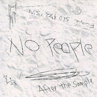 NO PEOPLE - After the Sample (CD)
