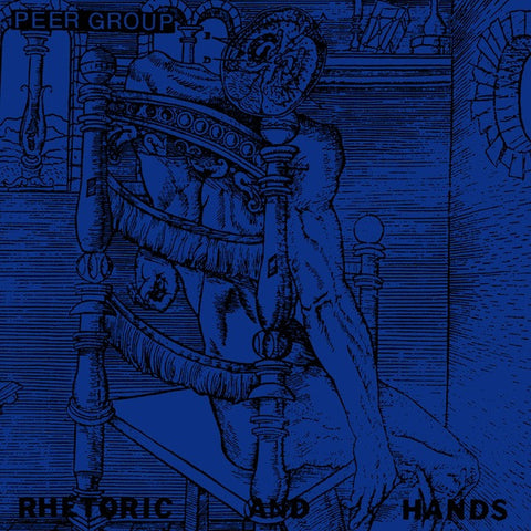 "PEER GROUP Rhetoric and Hands                     (7""), punk, recess ops, distro, distribution, punk distribution, wholesale, record album, vinyl, lp, Water Under the Bridge Records"