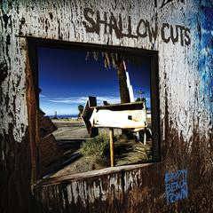 "Shallow Cuts- ""Empty Beach Town"" CASS, punk, recess ops, distro, distribution, punk distribution, wholesale, record album, vinyl, lp, Dead Broke Rekerds"