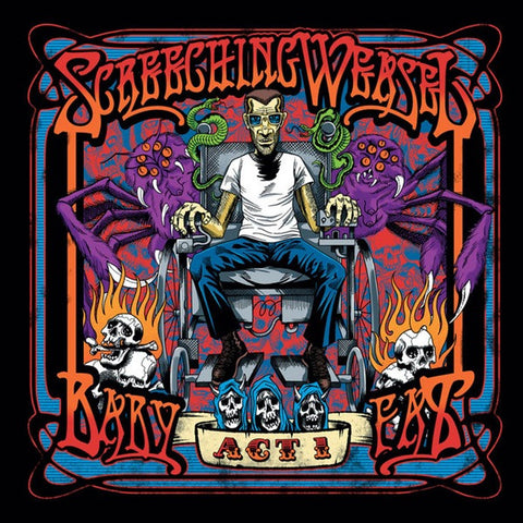 SCREECHING WEASEL Baby Fat                        2xLP, punk, recess ops, distro, distribution, punk distribution, wholesale, record album, vinyl, lp, Recess Records