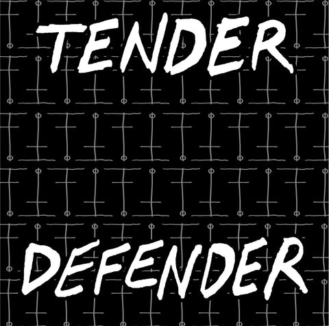 Tender Defender S/T, punk, recess ops, distro, distribution, punk distribution, wholesale, record album, vinyl, lp, Dead Broke Rekerds