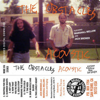 THE OBSTACLES Acoustic                            CASS, punk, recess ops, distro, distribution, punk distribution, wholesale, record album, vinyl, lp, Water Under the Bridge Records