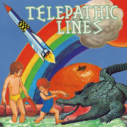 "TELEPATHIC LINES - Little Brother (12"" EP)"