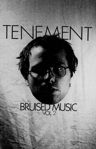 "Tenement- ""Bruised Music Vol.2"" CASS, punk, recess ops, distro, distribution, punk distribution, wholesale, record album, vinyl, lp, Dead Broke Rekerds"