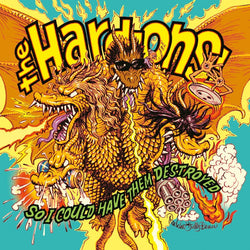 HARD-ONS - So I Could Have Them Destroyed (LP)