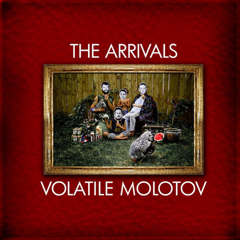 ARRIVALS, THE Volatile Molotov                    LP, punk, recess ops, distro, distribution, punk distribution, wholesale, record album, vinyl, lp, Recess Records